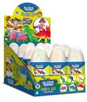 Dr. Steve Stretchy Dinos Eggs Display 12 Stk.